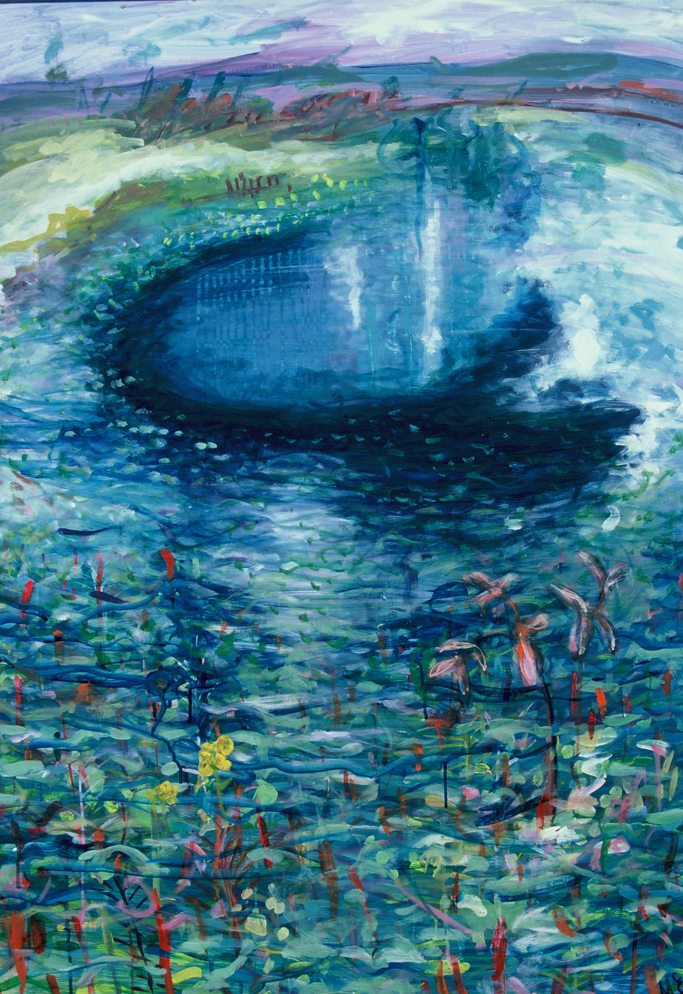 Reed Song after Monet 1987