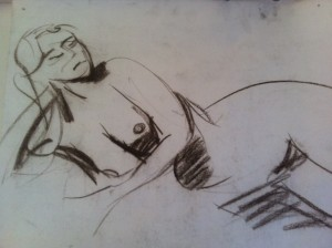 life drawing five